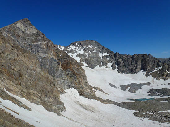 Arapaho Glacier and South Arapaho Peak (13,397')